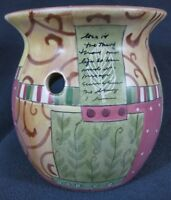 Yankee Candle Tarts Wax Melt Warmer Love Letters Noelle Dahlen Used Chipped
