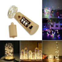 2M 20 LED Christmas Fairy String Party Light Lamp Wine Bottle Cork Xmas Decor