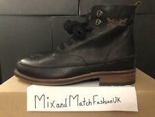 Marca nuevo Levi's Para hombres Mid Boot Negro UK 8 nos 9 EU 21 222505 -704-59 Nuevo