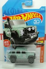 LAND ROVER DEFENDER DOUBLE CAB 2015 GREEN HOT TRUCK HOT WHEELS MINT LONG CARD