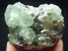 315g Green Botryoidal FLUORITE Crystal Group Mineral Specimen