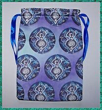 Earth Goddess Tarot Card Bag ideal for most fairy angel & Wicca tarot cards