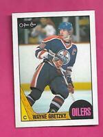 1987-88 OPC # 53 OILERS WAYNE GRETZKY NRMT-MT CARD (INV# D0721)