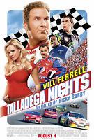 189513 Talladega Nights Ricky Bobby Will Ferrell NASCAR Decor Wall Print Poster