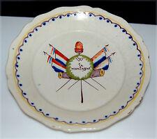 Assiette en faïence révolutionnaire de Roanne - XVIIIe