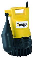 JUNG Tauchpumpe Schmutzwasser U3KS mit 4m Kabel Abwasserpumpe ab Lager JP00206