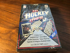 1990 - 91 Upper Deck  Hockey lot of 1 factory sealed FOIL BOX