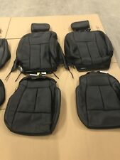 2015-2018 Ford F150 Black Leather Crew Cab Seat Covers Full 4 Door New Take Off