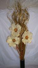 Gold Bouquet &100 stems gold glitter ting Grass Gift,weddings display 65cm tall