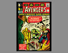 POSTER: THE AVENGERS #1 (Sept. 1963) Marvel Comics Cover POSTER Print