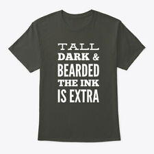 Tall Dark And Bearded The Ink Is Extra Hanes Tagless Tee T-Shirt