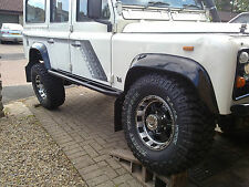 Land rover defender 110 tree rock sliders