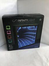 Infinity Light Mood Desk Lamp Optical Illusion Bedside Bedroom Night Light