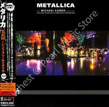 METALLICA S&M MICHAEL KAMEN SAN FRANCISCO ORCHESTRA 2 CD MINI LP OBI old stock