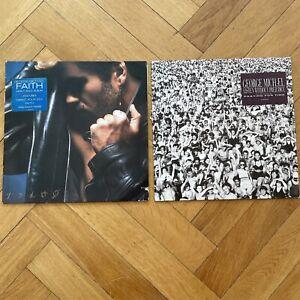 LP Vinyl Sammlung George Michael Listen Without Prejudice / Faith