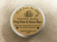 Non Toxic Natural Dog Paw and Nose Wax - Heals & Protects Your Dogs Paws & Nose