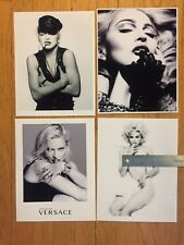 MADONNA Lot of 8x11 photos Prints sex book, Justify My Love, Versace, MDNA vogue