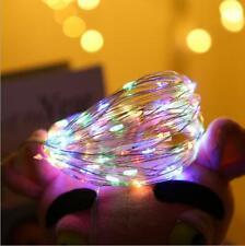 Home Garden Led Solar Power Fairy Light String Lamp Party Xmas Wedding Decor USA