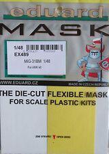 Eduard 1//48 EX489 canopy masque pour l/'avant garde kit MiG-31BM amk