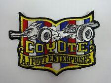 Coyote A.J. Foyt Enterprises Collector Emblem Iron on Patch