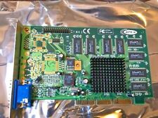 VINTAGE RARE BRAND AZTECH TNT2 16 MB AGP VIDEO CARD - USA SELLER!