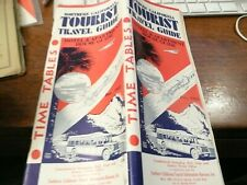 Southern California Tourist Travel Guide - Hotel Guide & Timetable - Dec 1932