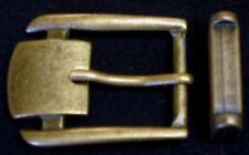 66880a69f7dae2 GÜRTELSCHNALLE mit SCHLAUFE f. 28mm breite GÜRTEL Metall ORIGINELL Rarität  TOP #