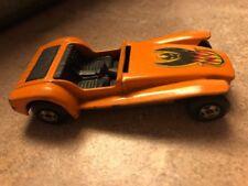 1971 Matchbox Superfast Orange Lotus Super Seven w/Bat Flames Decal #60