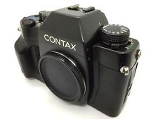 New listing �Cool ! Excellent +】 Contax Rx 35mm Slr Film Camera Black Body From Japan