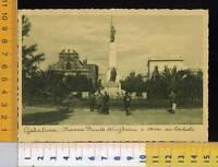 30779]  LECCE - GALATINA - PIAZZA DANTE ALIGHIERI E MONUMENTO AI CADUTI  _ 1937