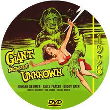 "Giant from the Unknown (1958) Sci-Fi and Horror NR CULT ""B"" Movie DVD"