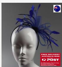 Unbranded Feather Fascinator Hair Accessories for Women