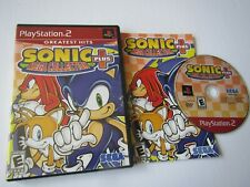 Sony Playstation 2 PS2:  Sonic + Plus Mega Collection complete in case/tested