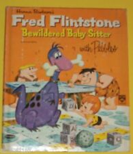 Fred Flintstone & Pebbles 1963 Bewildered Baby Sitter Top Top Book Nice Pics SEE