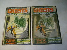 Ghosts #5 Cover Art, original Approval Cover Proof and Painting, 1970's