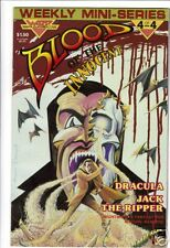 Blood of the Innocent #4 1985  Dracula Jack the Ripper
