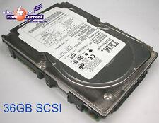 36 GB IBM FESTPLATTE HARD DISK SCSI 80-PIN 80-PON 10k 9T5006-045 f. SERVER #n822