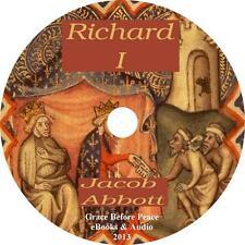 Richard I, Historical English Civil War Audiobook by Jacob Abbott on 6 Audio CDs