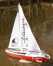 """Rc modèle voile bateau Atlantique 38cm """"telecommande 27 MHz"""" 40250"""