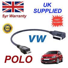 For VW POLO AMI MMI  5G0051763C  MP3 PHONE MICRO USB Audio Cable