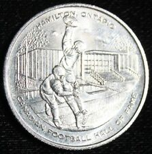 1972 - 60th Anniversary Grey Cup Dollar - Canadian Football Hall Of Fame - NCC