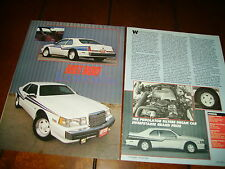 1988 LINCOLN MARK VII LSC HOT ROD - ORIGINAL ARTICLE
