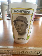 1978 Tony Perez Montreal Expos 7-11 Slurpee cup HTF
