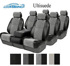 Coverking Custom Seat Covers Ultisuede 3 Row Set - 4 Color Options