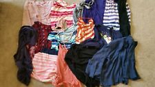 15 LOT WOMEN CLOTHES SHIRT PANTS LONG SLEEVE TOPS TANK SHORT size large