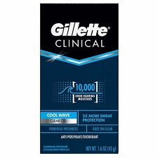 Gillette Clinical Protection Clear Gel Deodorant Cool Wave 1.60 oz
