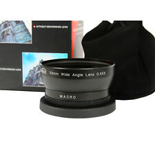 58 mm 0,45X Wide Angle Converter/Conversion Lens