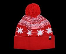 DC Shoe Co - POMPOUS - Mens Beanie (NEW w/ FREE SHIP) Winter Cap OSFA Beenie RED