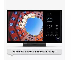 Luxor 24 Inch HD Play Smart LED TV *Excellent Bedroom Television LUX0124002/02