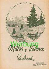 580 Milka Velma Suchard`s Brennabor Werbung Druck 1905 !!!